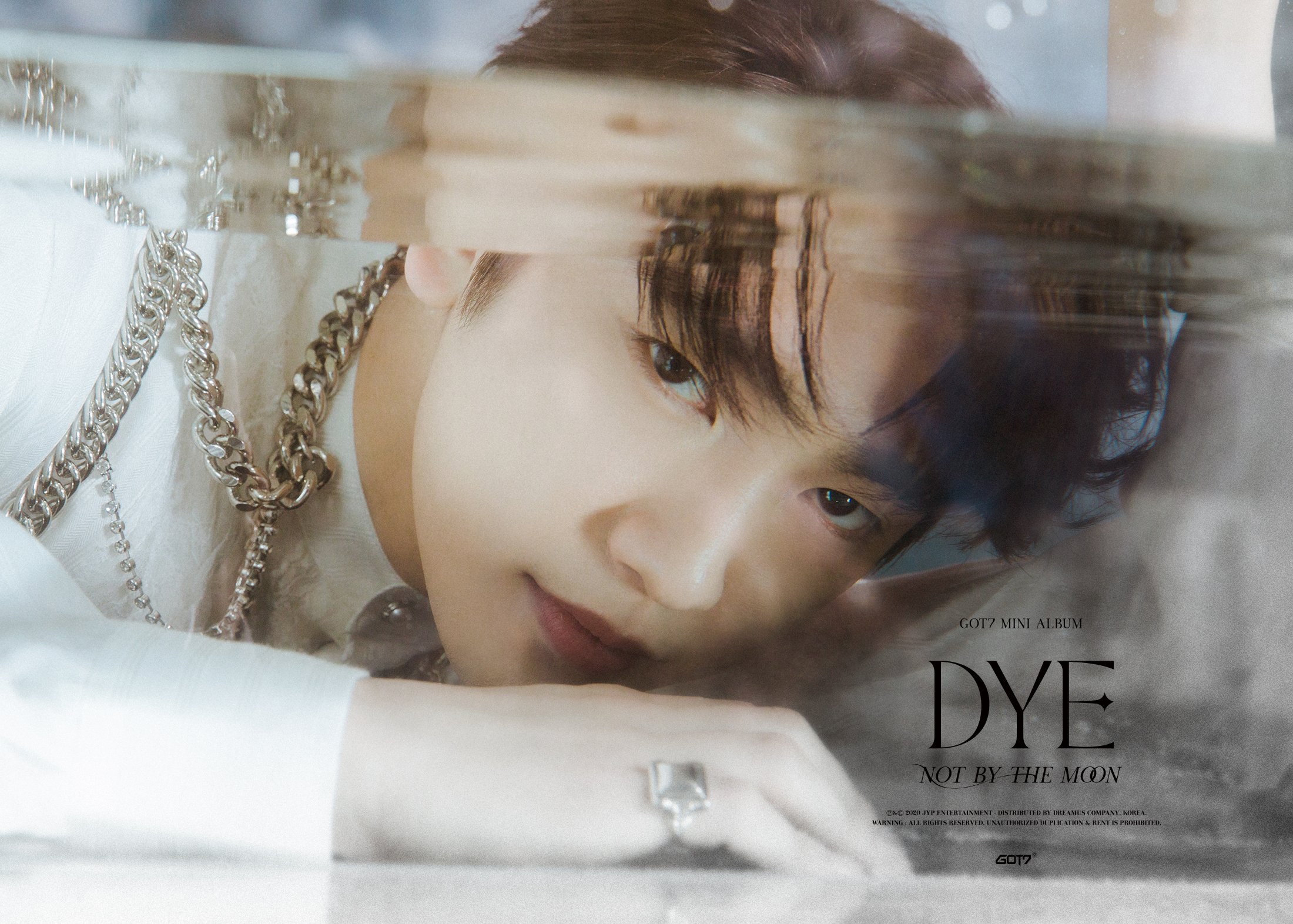 Jinyoung concept photo for DYE.