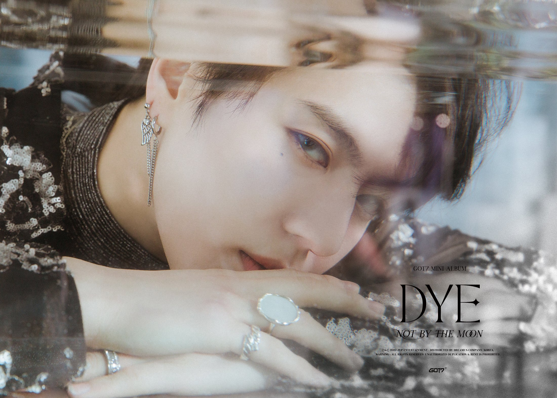 Yugyeom concept photo for DYE.