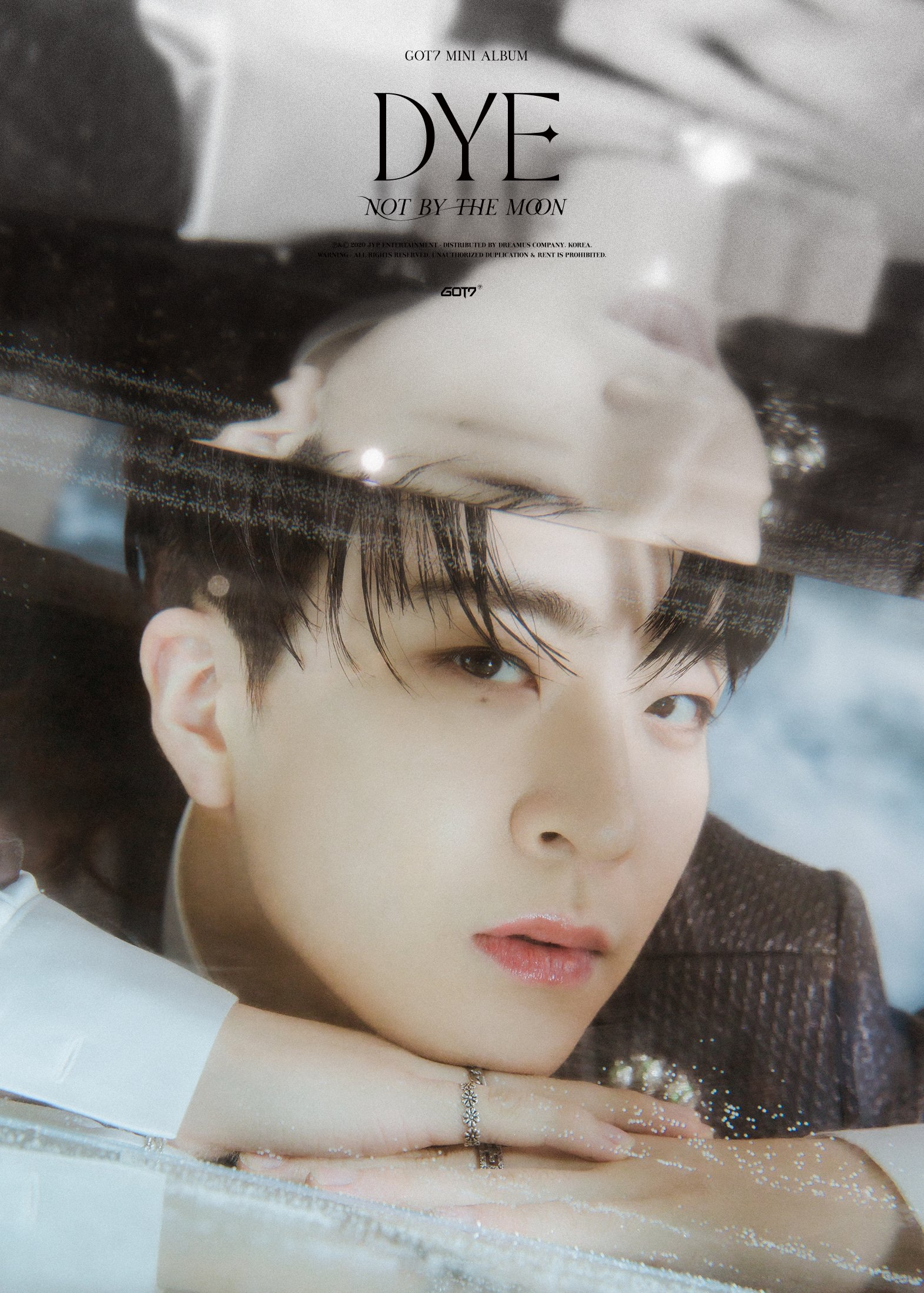 Youngjae concept photo for DYE.