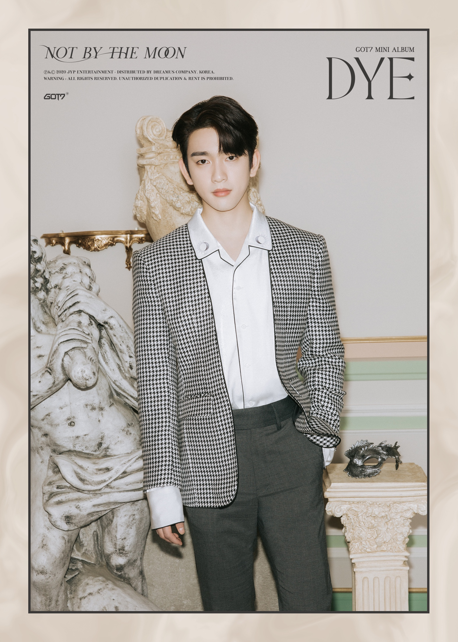 Jinyoung 2nd teaser image for DYE comeback