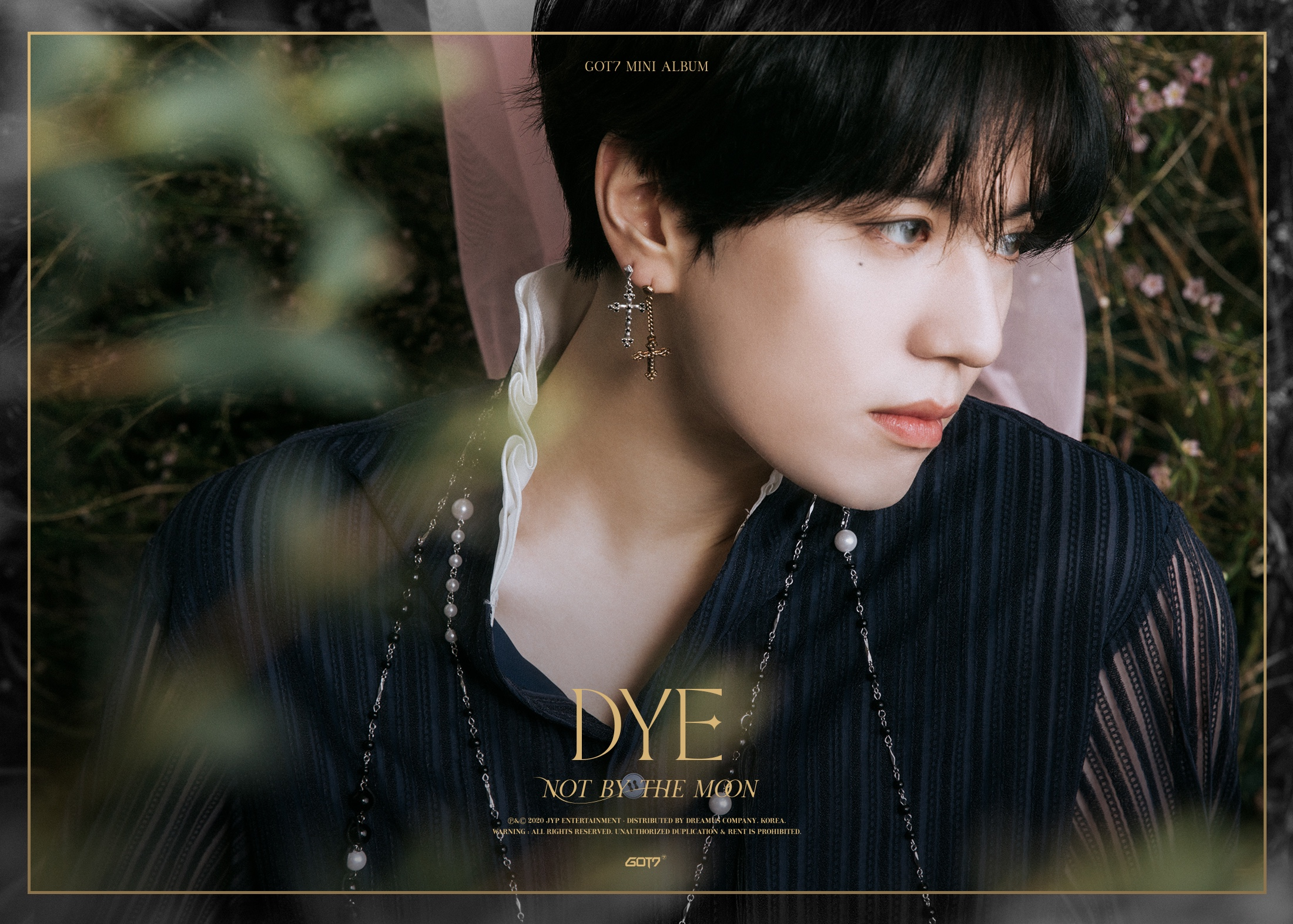 Yugyeom in the 3rd teaser image for DYE