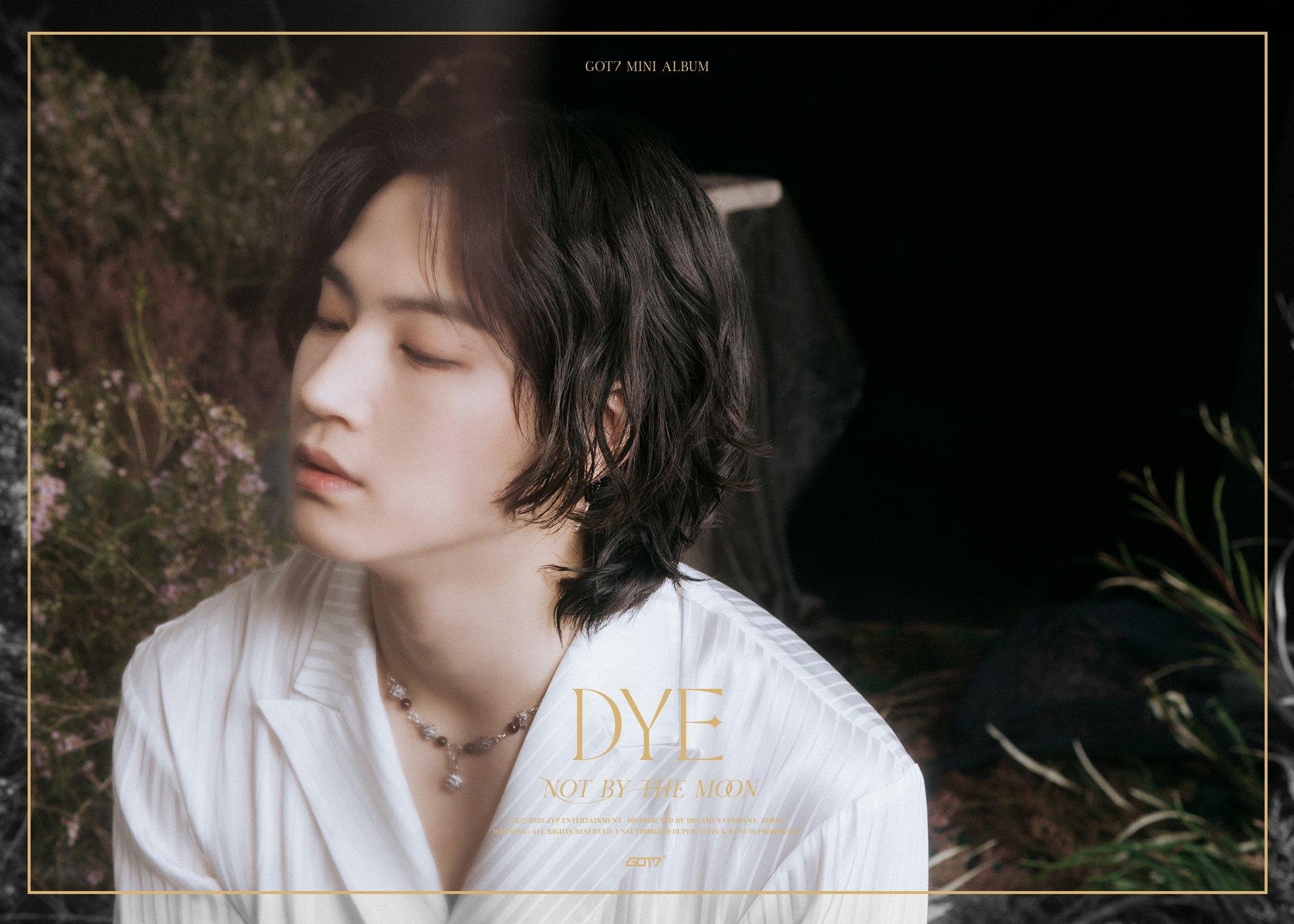 JB in the 3rd teaser image for DYE