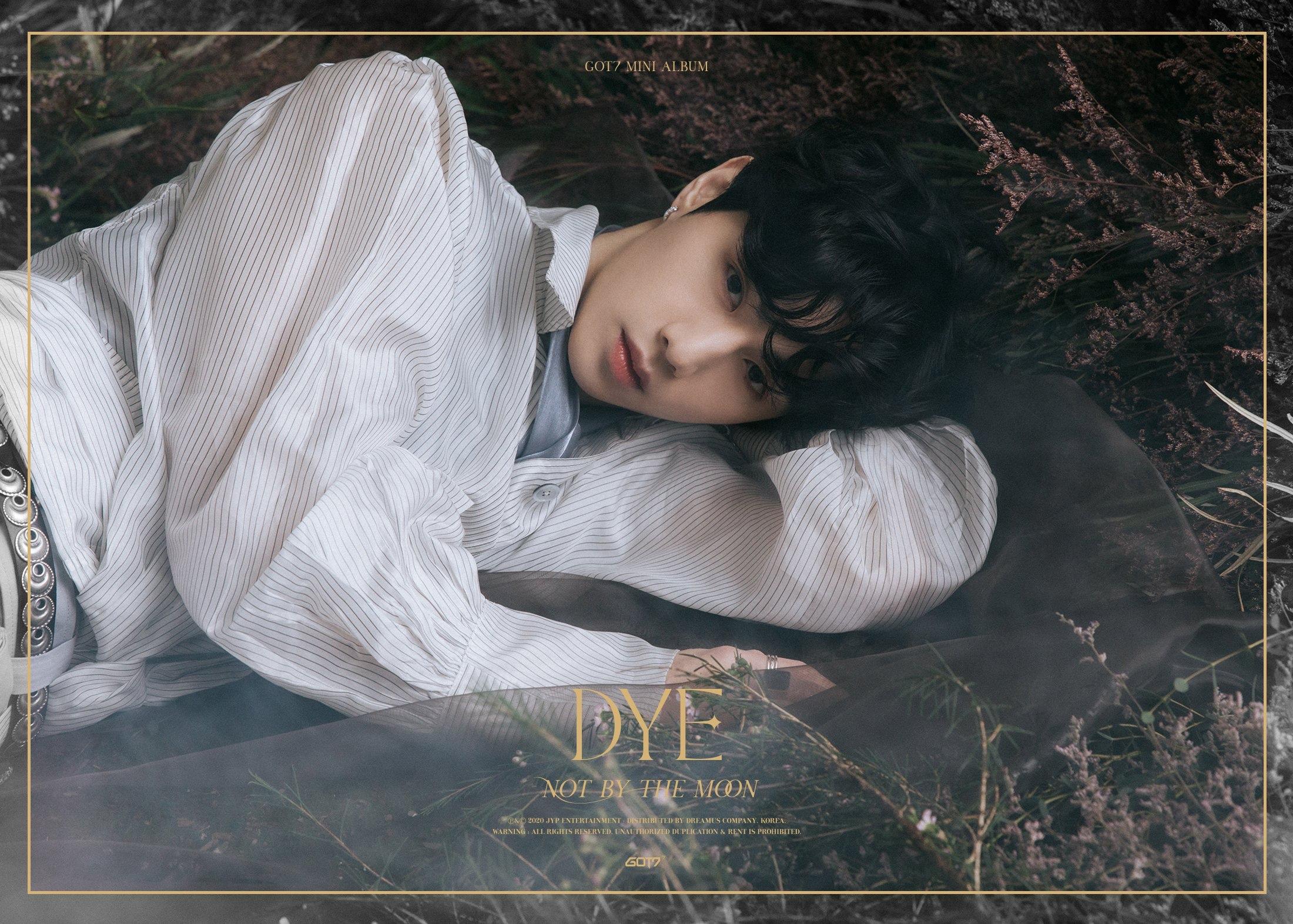 Mark in the 3rd teaser image for DYE