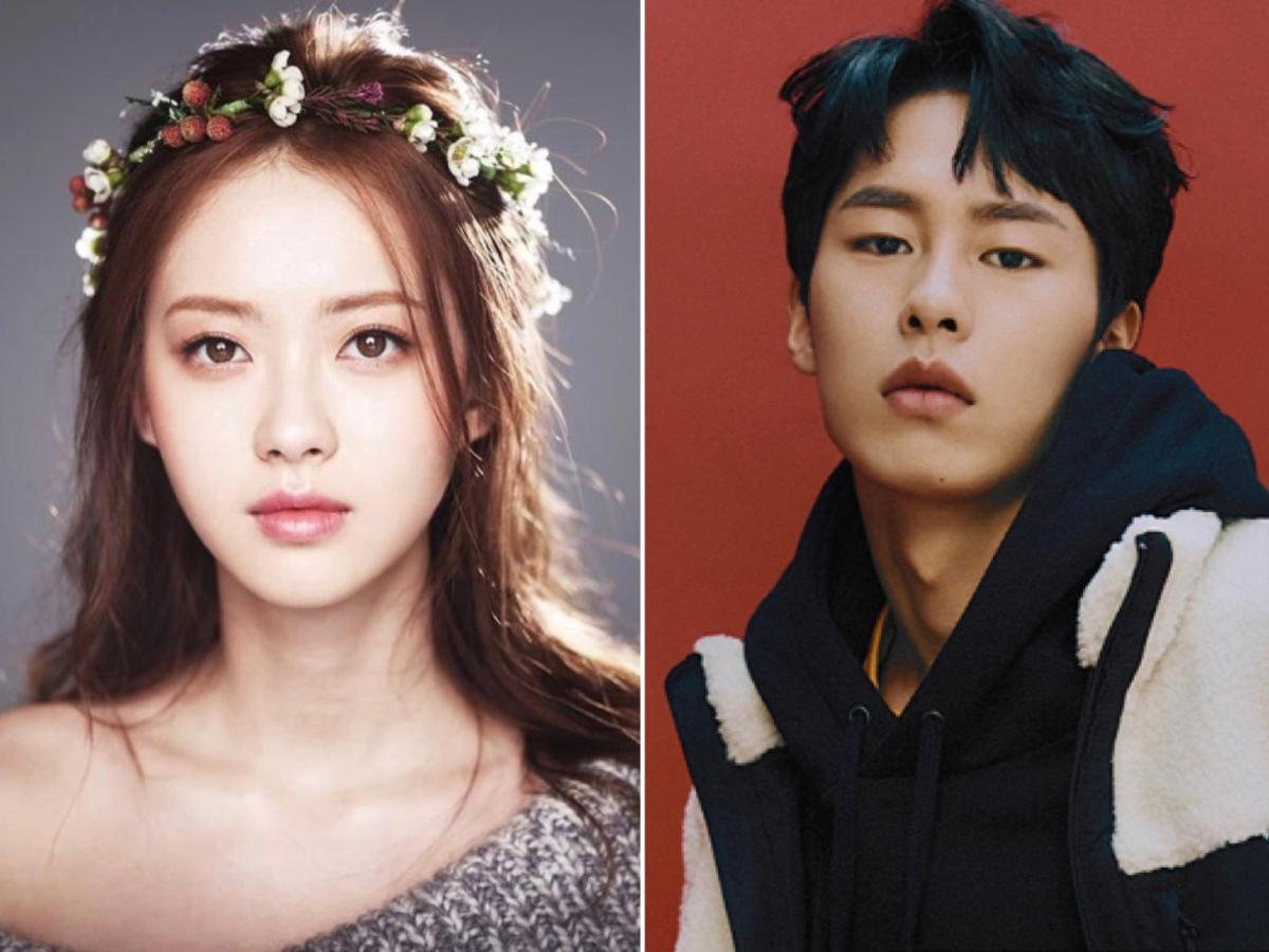 Go Ara and Lee Jae Wook.