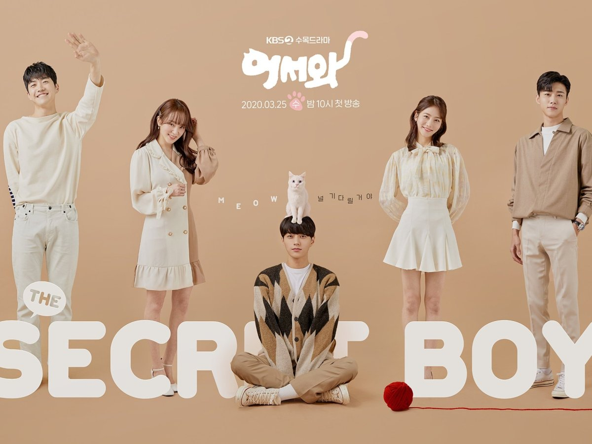 Meow the Secret Boy drama poster