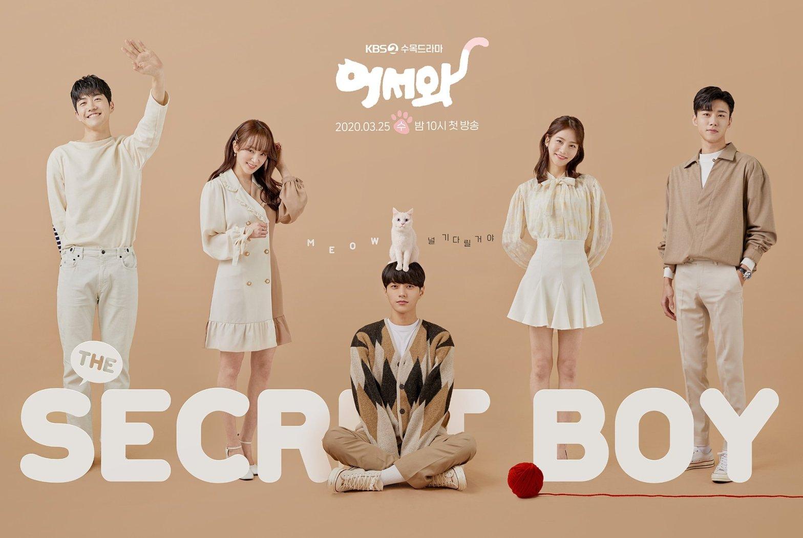Meow the Secret Boy drama poster