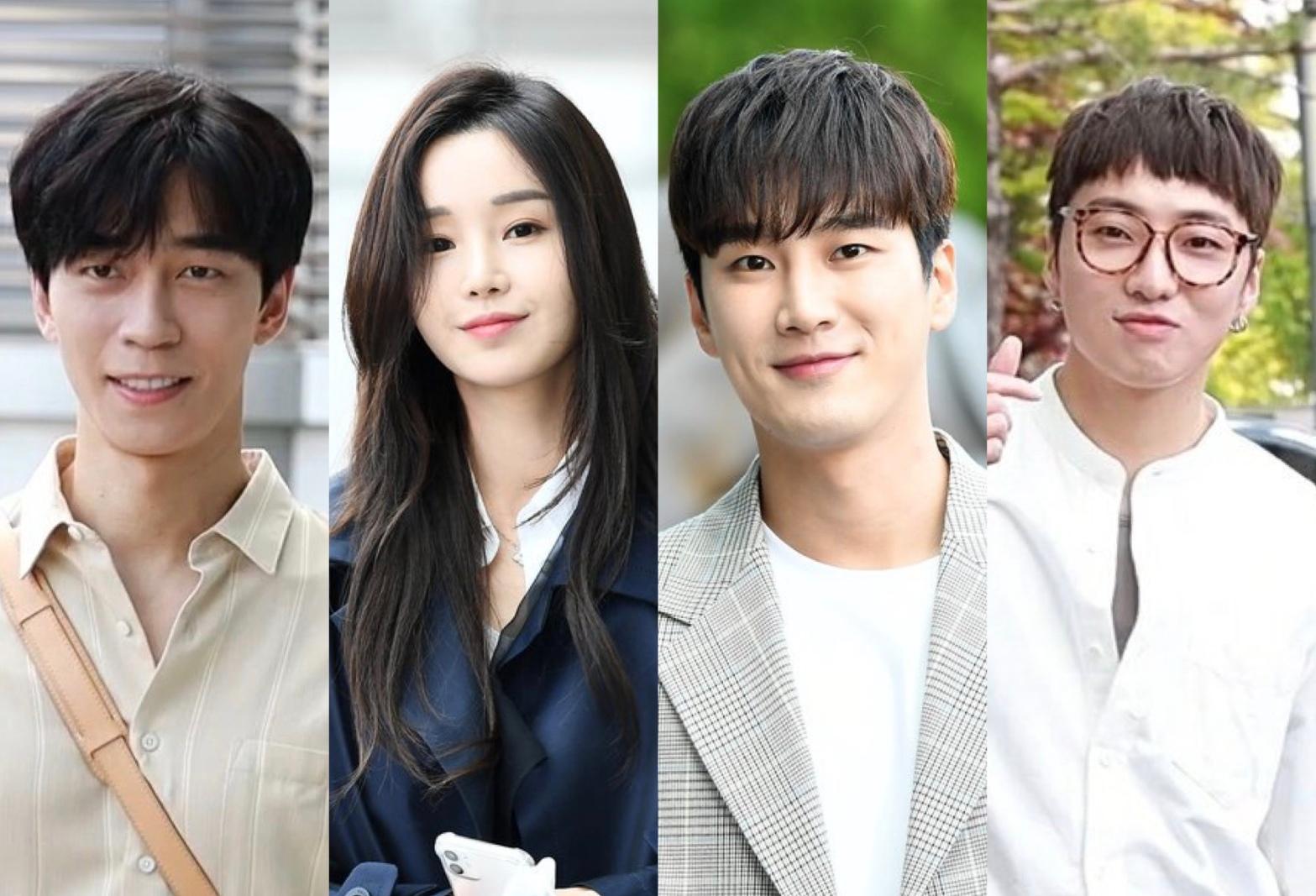 Shin Sung Rok, Nam Gyu Ri, Ahn Bo Hyun and WINNER's Kang Seung Yoon for Kairos