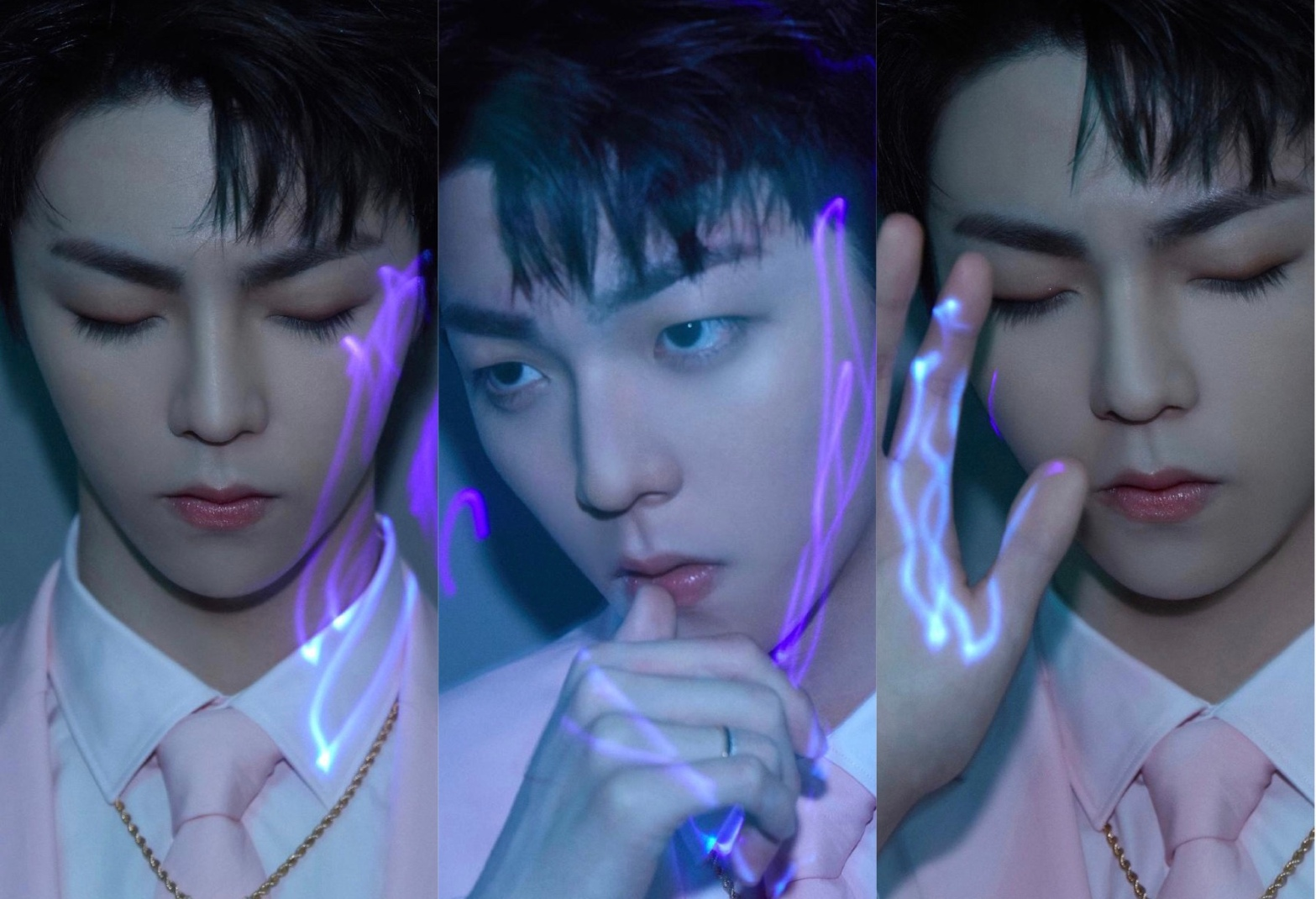 Chen Linong, concept photos for 1st full album 格格不入
