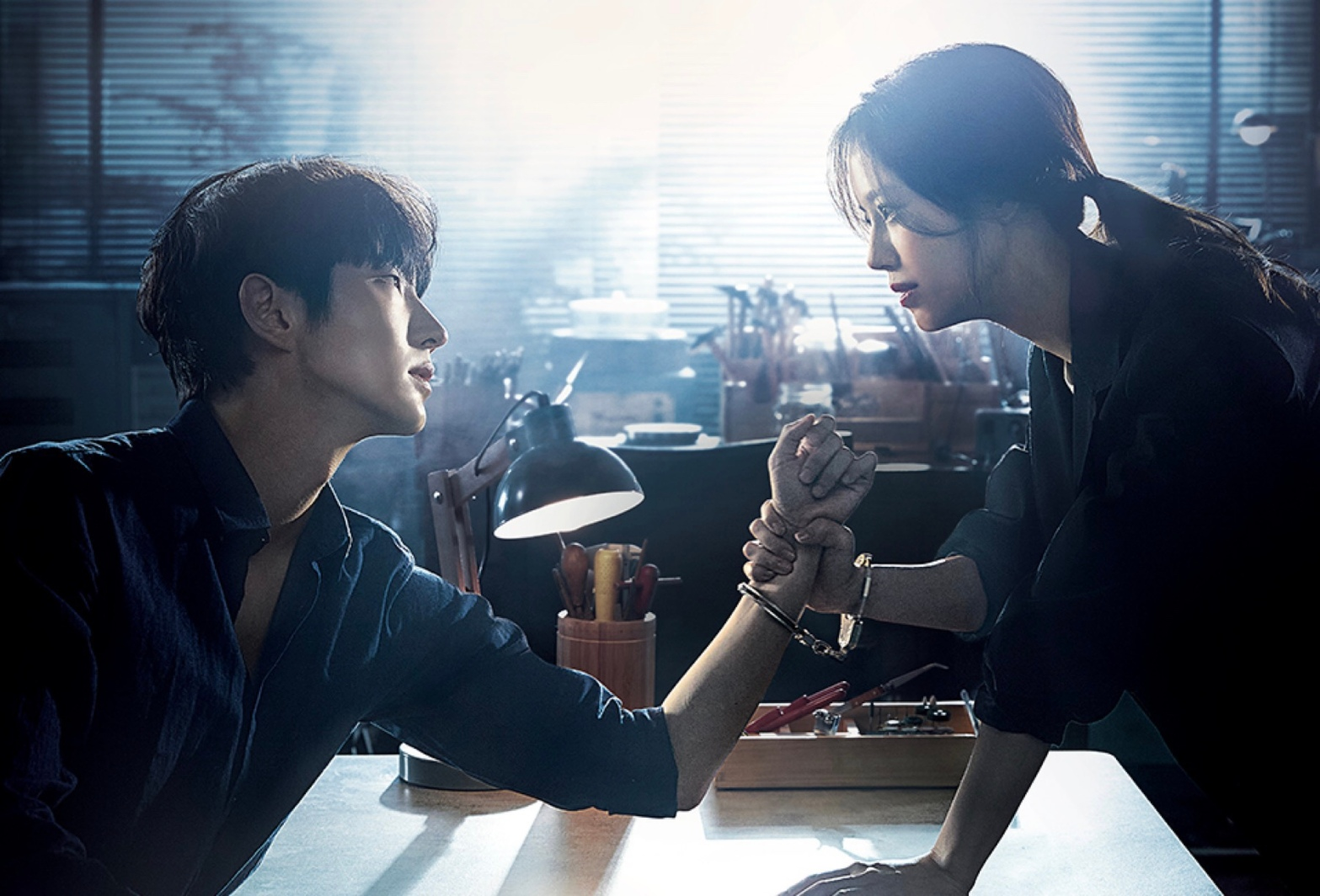 tvN's drama Flower Evil drama poster