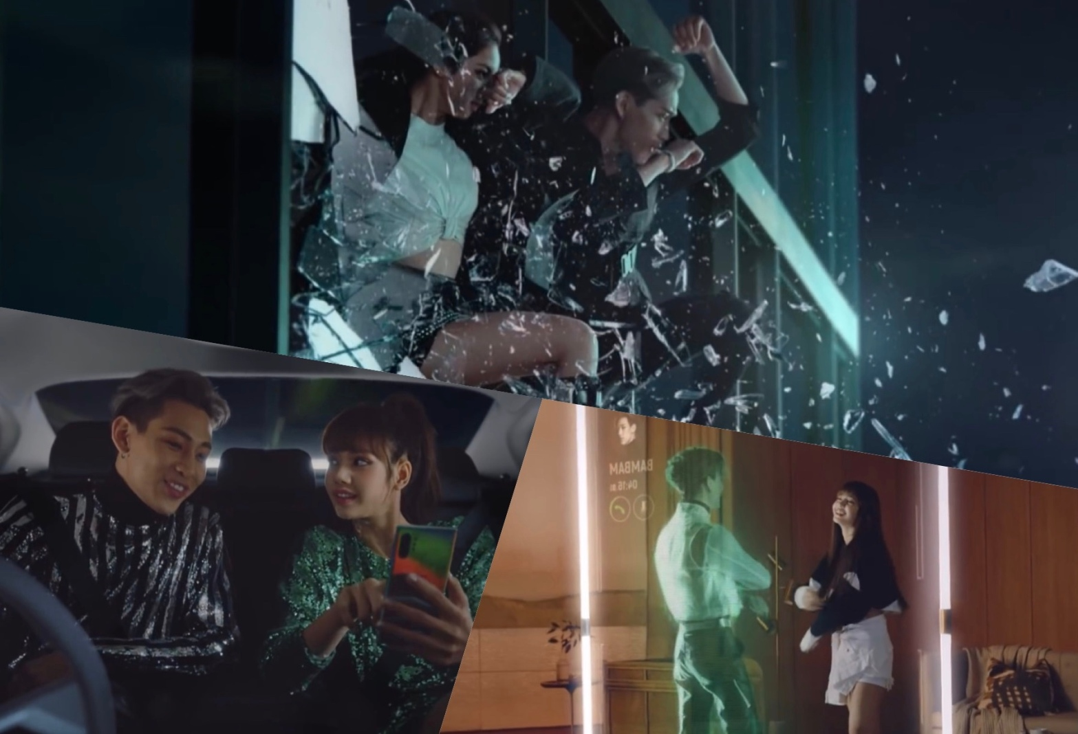 GOT7's Bambam and Blackpink's Lisa for AIS advertisement