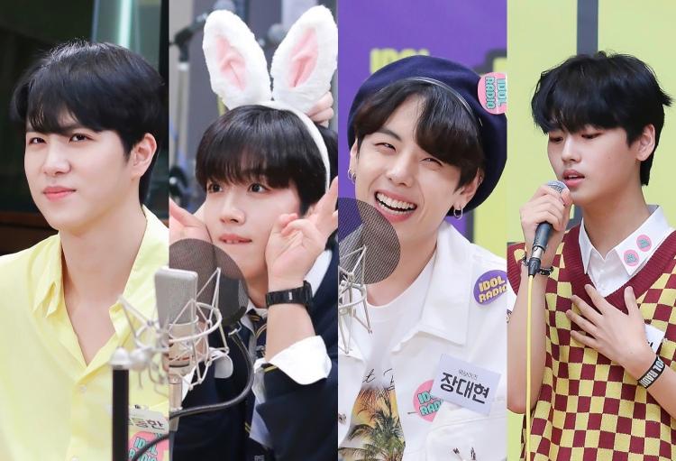OUI Boys Kim Yohan, Kim Donghan, Jang Dae Hyeon and Kang Seok Hwa.