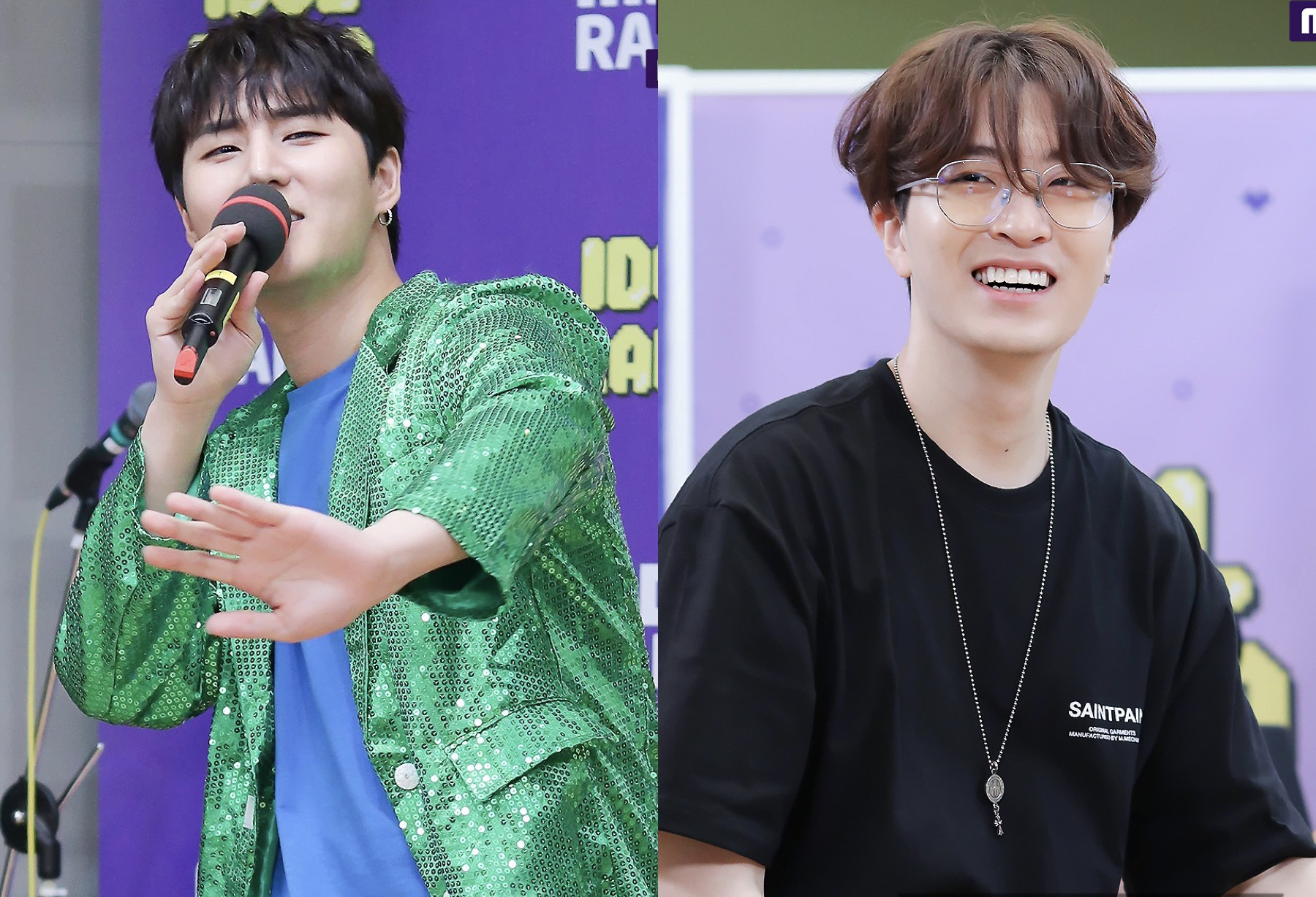 Day6's YoungK and GOT7's Youngjae on Idol Radio Episode 630 with OUI Boys.