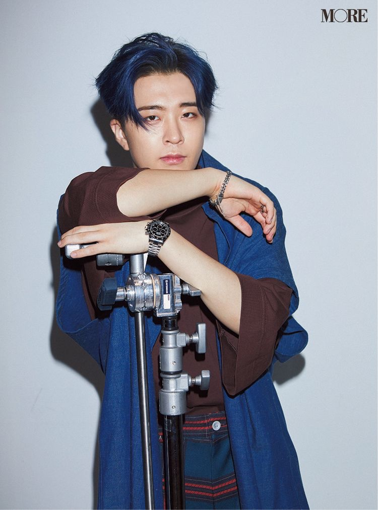 GOT7's Youngjae for Japan Magazine MORE