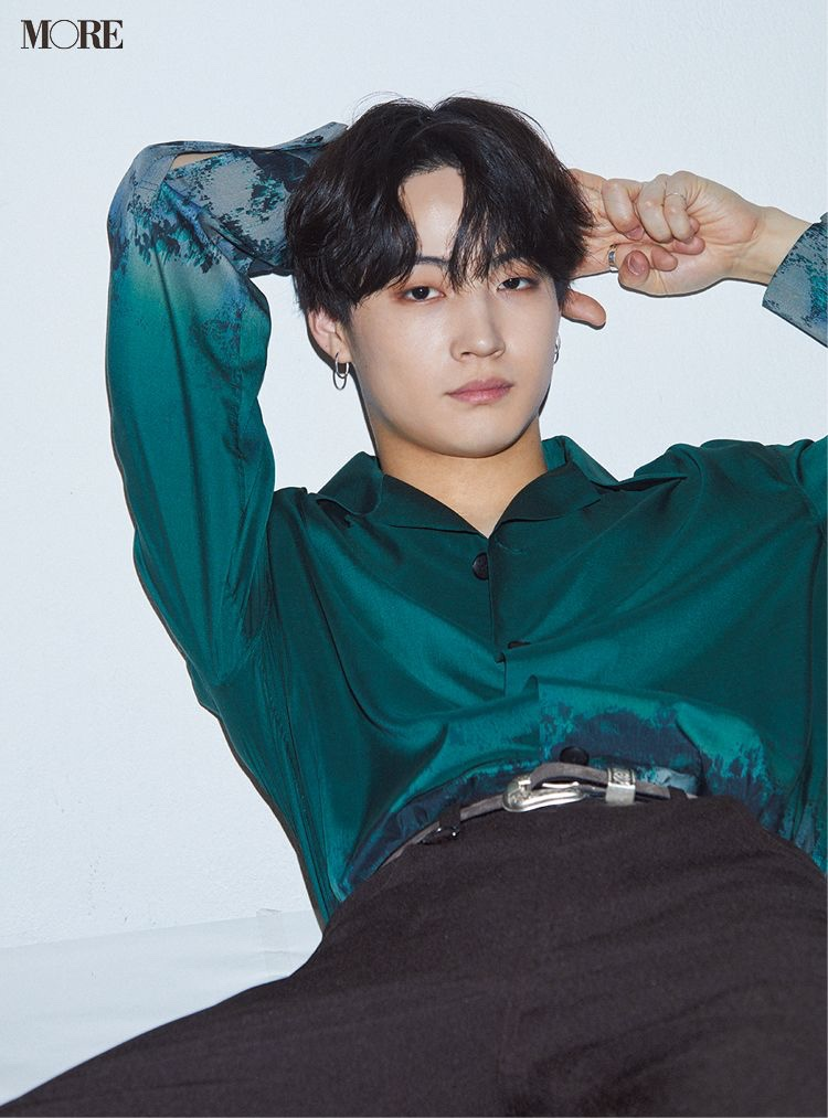 GOT7's JB for Japan Magazine MORE