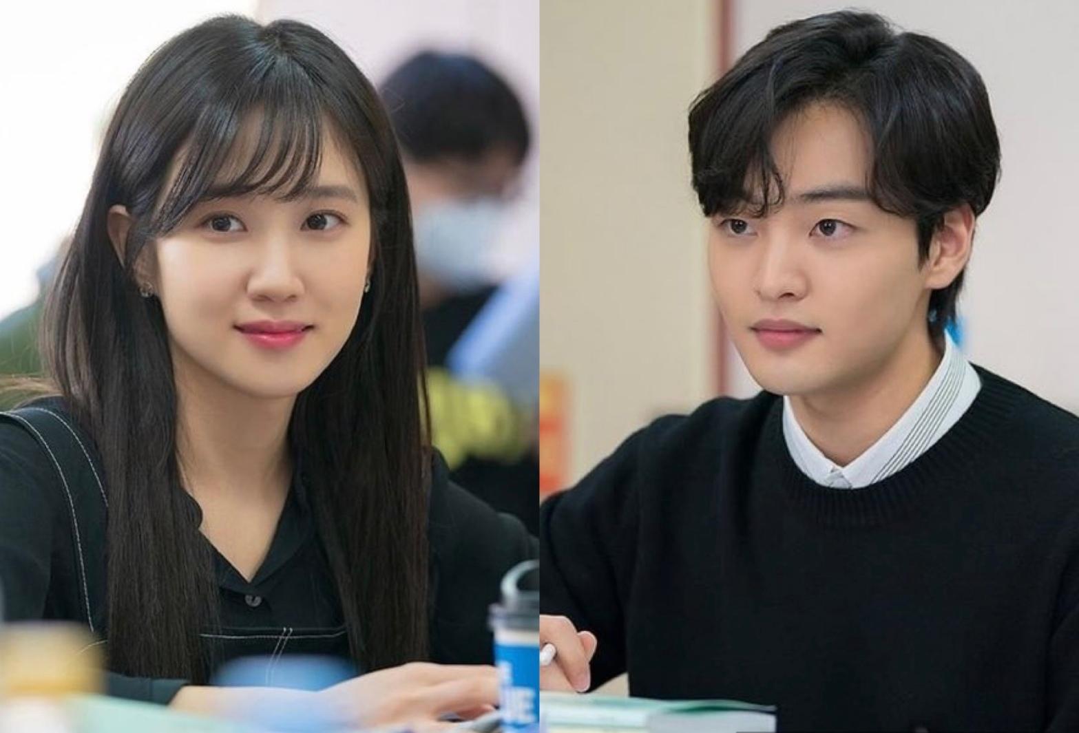 Park Eun Bin and Kim Min Jae for Do You Like Brahms script reading