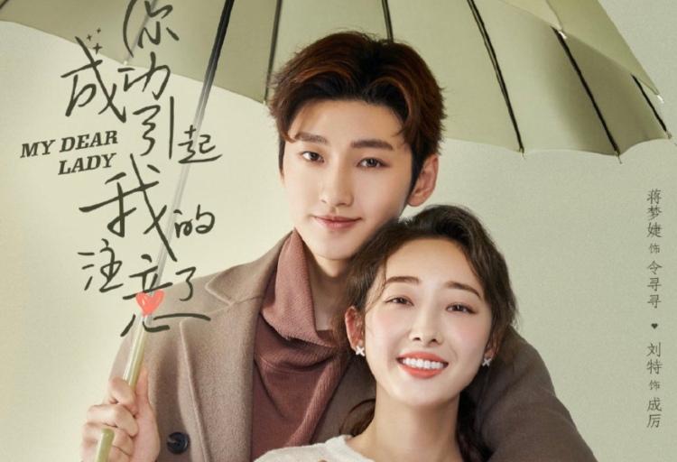 My Dear Lady 你成功引起我的注意了 2020 China drama poster