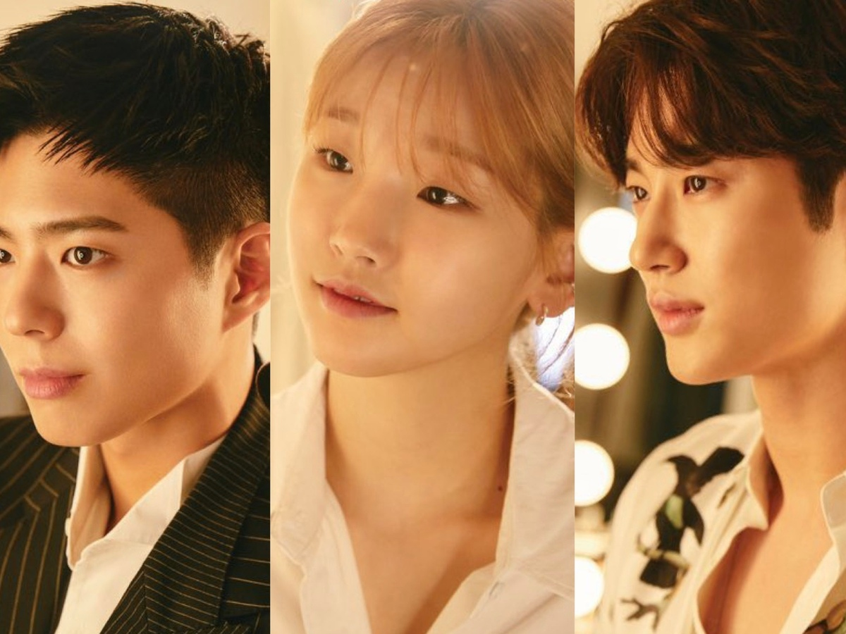 Teaser images for Record of Youth featuring Park Bo Gum, Park So Dam and Byun Woo Seok for tvN's Record of Youth.