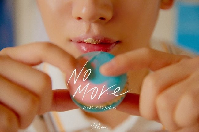 Kim Yo Han's 1st digital single 'No More' teaser image.