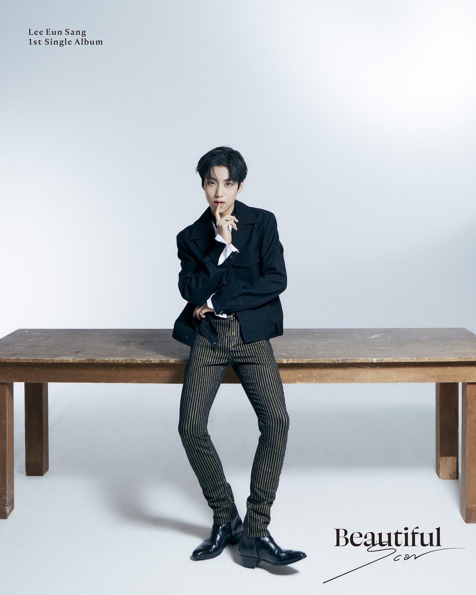 Lee Eun Sang 1st Single Album 'Beautiful' Concept #1