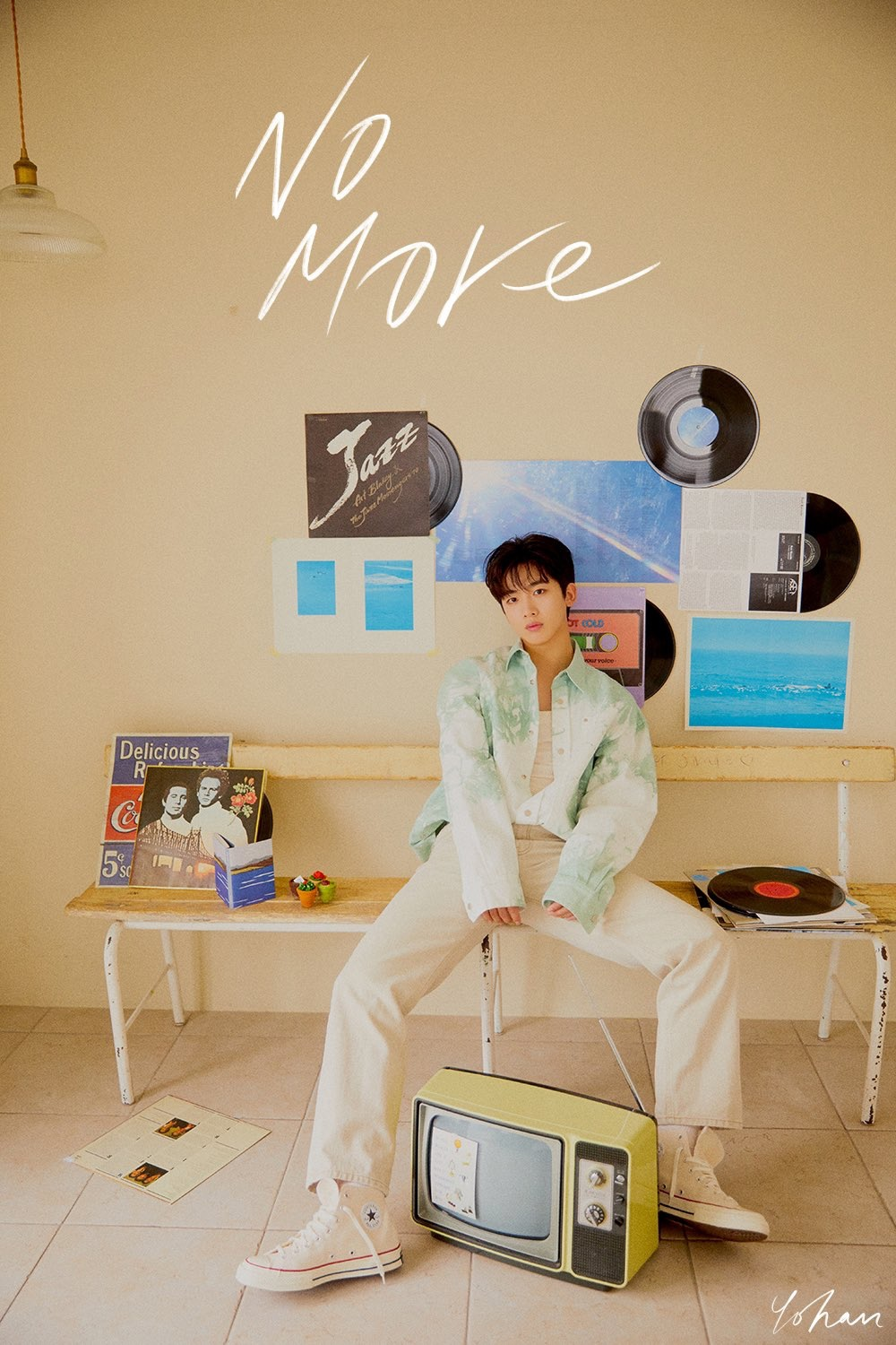 Kim Yo Han's 1st digital single 'No More' Concept Image #2