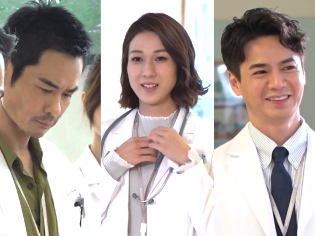 Still cuts from preview of Children Hospital (literal translation) 兒童醫院 featuring Linda Chung, Kevin Cheng, Him Law, Kenneth Ma, Bowie and more.