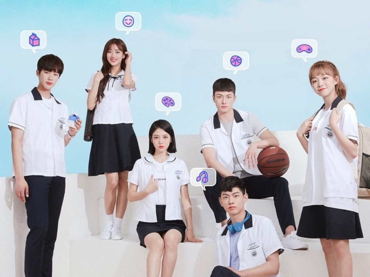 Playlist Studio's A-TEEN Web drama poster