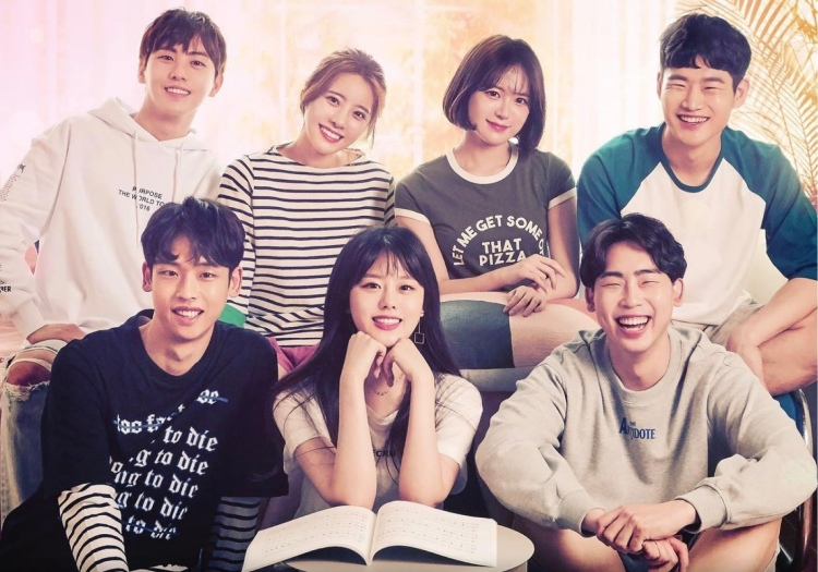 Love Playlist 2, web drama poster.