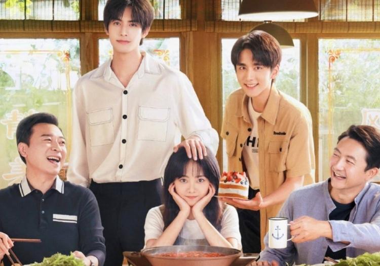 Go Ahead 以家人之名, 2020 China Drama poster.