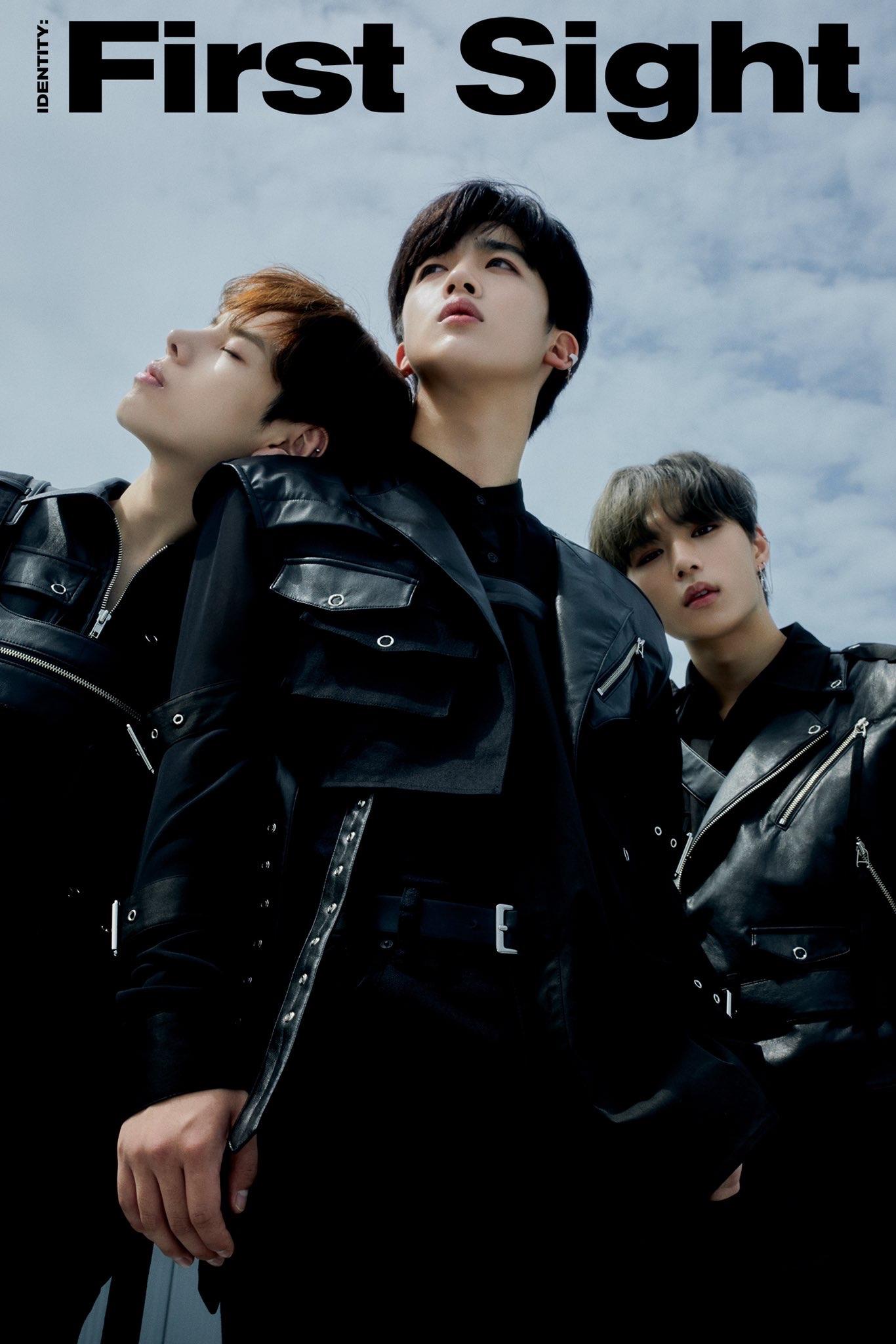 WEi First Album first teaser image. Jang Dae Hyeon, Kim Yo Han and Kim Jun Seo.