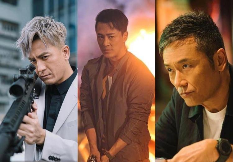 Still cuts in Line Walker 3, TVB Drama.