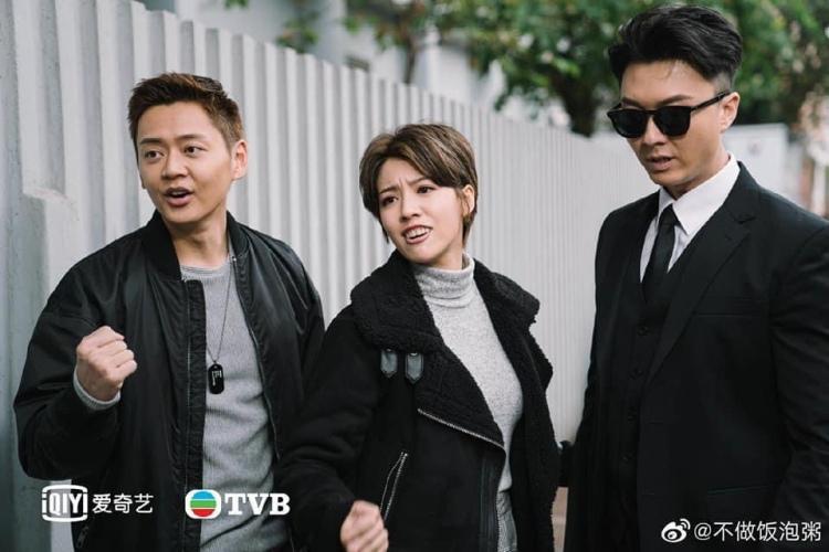 Legal Maverick 2 still cuts, Vincent Wong, Owen Cheng and Sisley Choi.