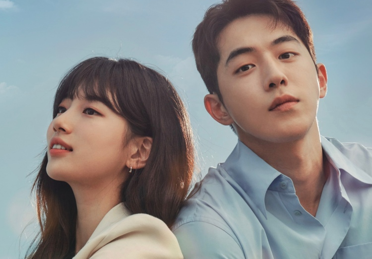 Bae Suzy and Nam Joo Hyuk pose for upcoming tvN's drama poster, Start up.