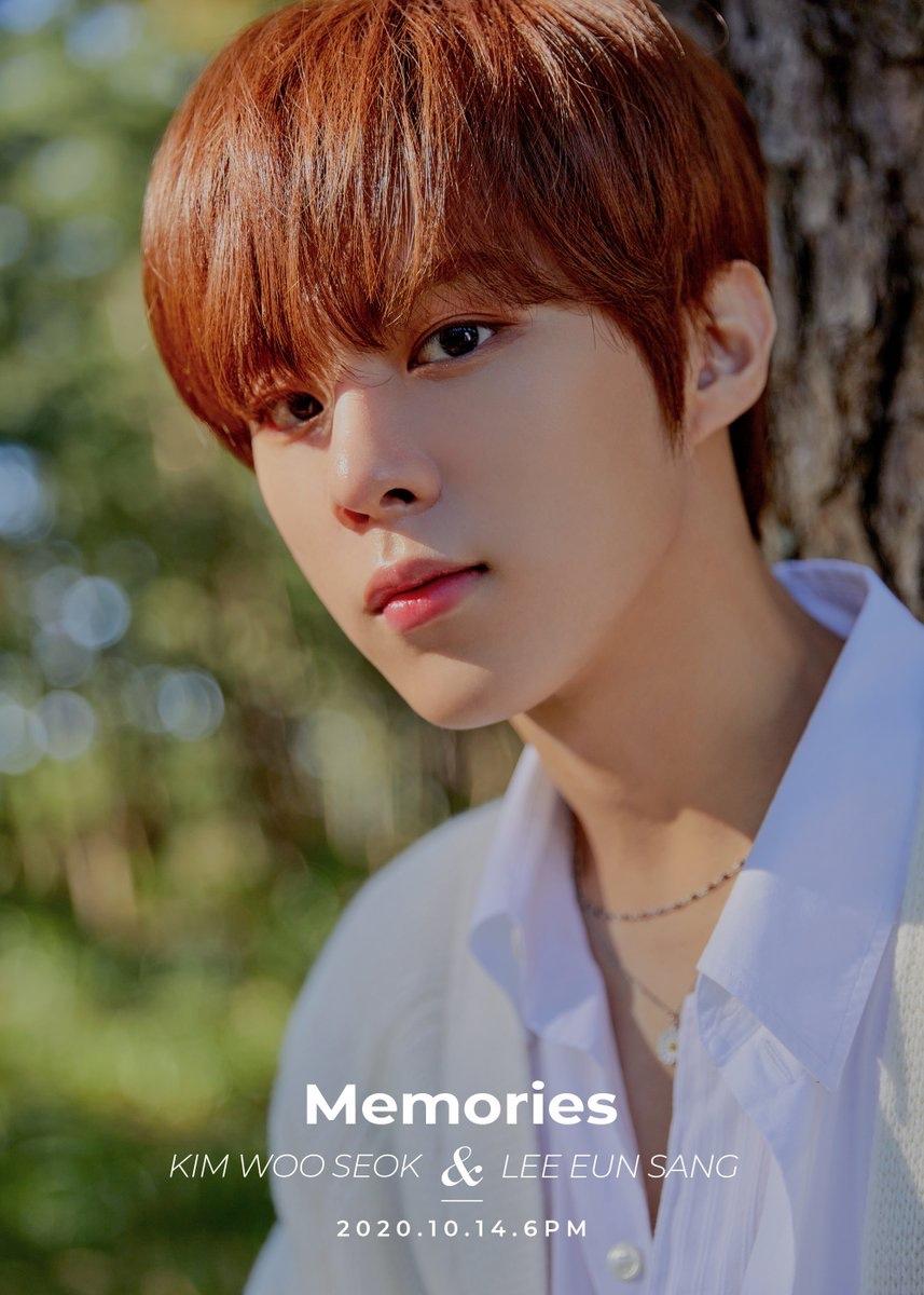 Kim Woo Seok teaser image for single 'Memories'