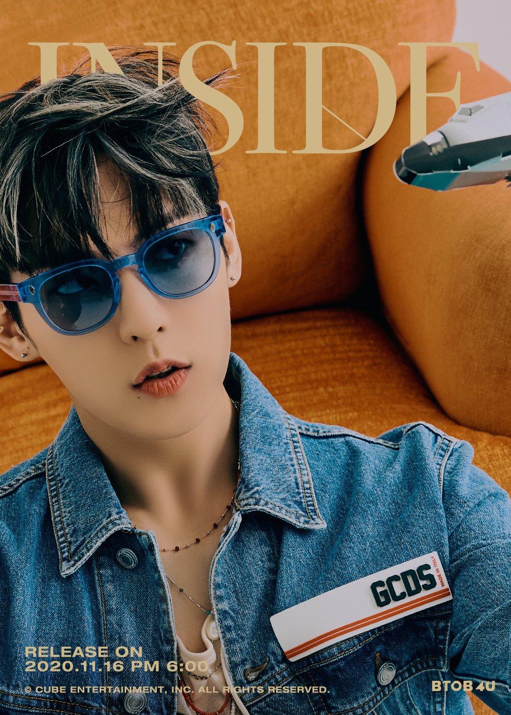 BTOB 4U 1st Mini Album Image Teaser - Lee Min Hyuk