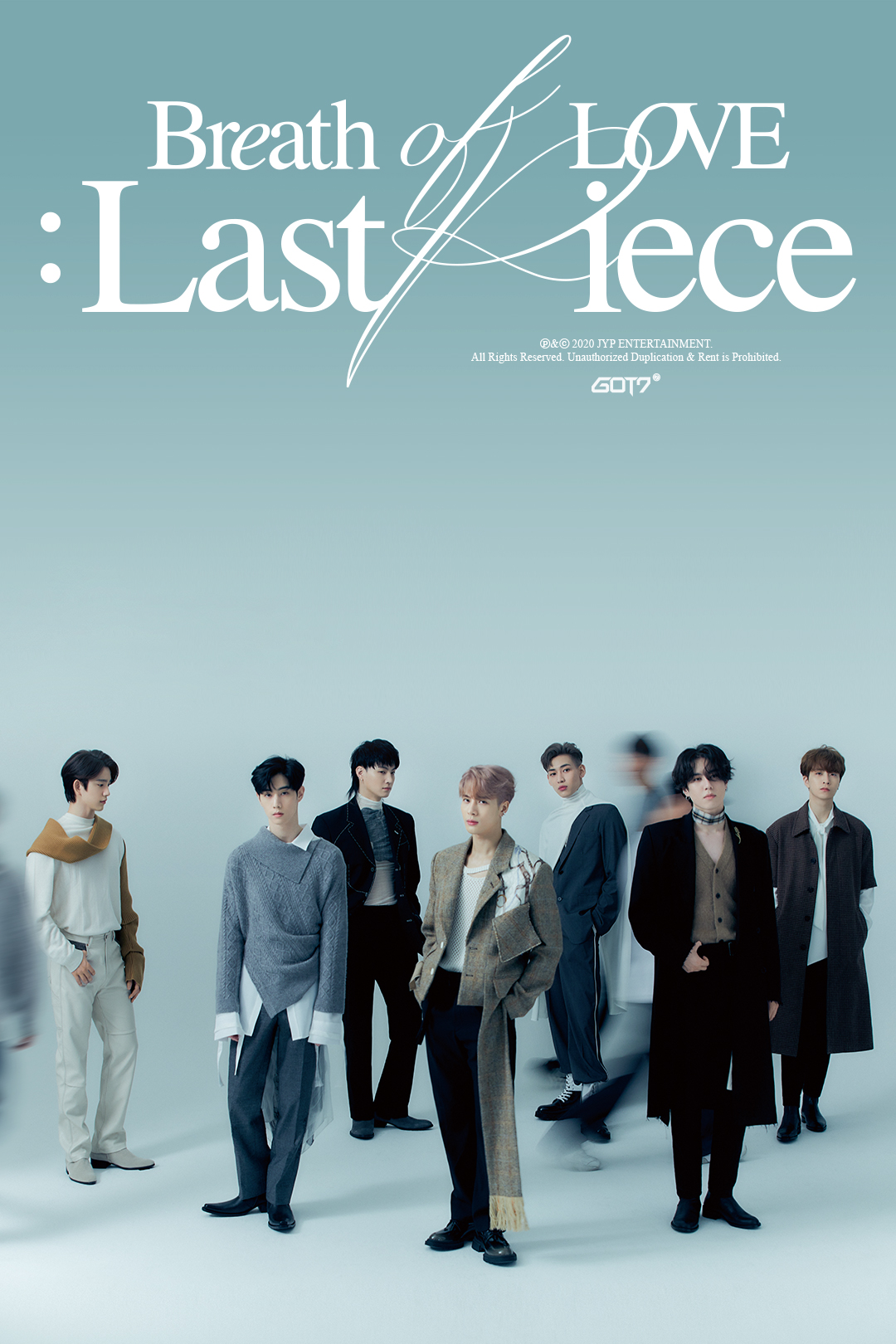 got7 breath love - last piece - nov 2020