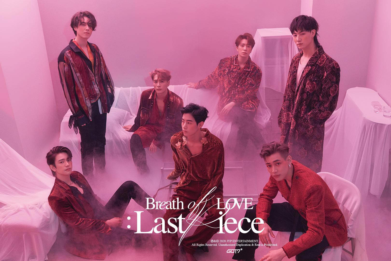 GOT7 Breath of Love: Last Piece Teaser Poster 3